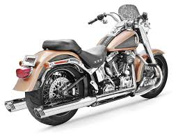freedom performance racing true dual exhaust for harley softail