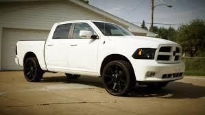 white dodge truck suggestions for black wheels on white truck dodge ram forum