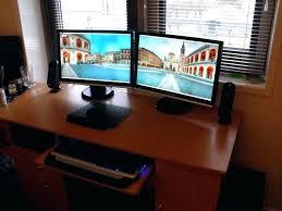 computer desk for 2 monitors dual computer desk double computer desk double computer desk