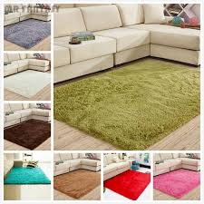 Modern Shaggy Rugs Fluffy Rugs Anti Skid Area Rug Shaggy Carpet Modern Home Bedroom