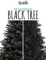 black christmas trees treetopia how to decorate your black tree treetopia