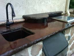 undermount sink concrete countertop how to install undermount sink in concrete countertop concrete with