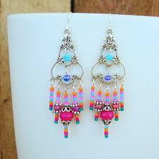 original earrings boho chandelier earrings pretty from bohostyleme boho jewelry