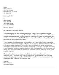 animal shelter volunteer cover letter