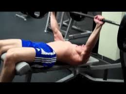 How To Bench Press Alone - how to barbell decline bench press youtube