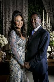 brazil legend pele marries for a third time at small ceremony in