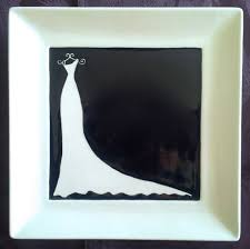 bridal shower autograph plate wedding guest book alternative bridal shower guest book