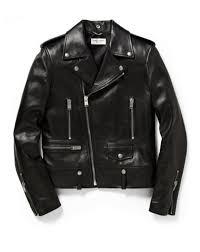 classic leather motorcycle jackets gq selects saint laurent slim fit leather biker jacket gq
