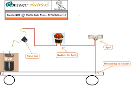 how to wire a 12 volt tractor light on aunit that has headlights