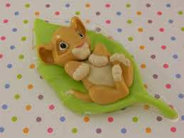 lion king cake toppers baby simba cake topper baby shower lion by christymaries83 on etsy