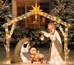 best 25 outdoor nativity ideas on nativity