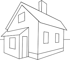 house drawings how to draw a house with easy 2 point perspective techniques how