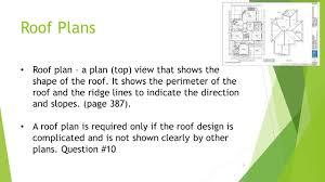 roof plans et 201 u2013 architectural drafting dr dan trent september 28 ppt