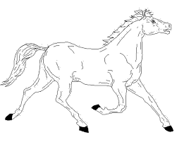 kidscolouringpages orgprint u0026 download free horse coloring pages