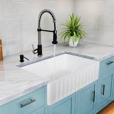 Cheap Farmhouse Kitchen Sinks Drop In Farmhouse Kitchen Sinks Visionexchange Co