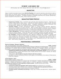 Best Job Objective For Resume by Objective For Resume Electrical Engineer Free Resume Example And