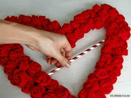valentines wreaths dress your door for s with these 20 beautiful wreaths