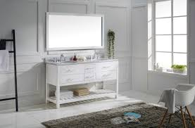 virtu usa caroline estate 60 bathroom vanity set in white