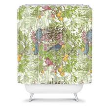 Colorful Fabric Shower Curtains Unique Colorful Fabric Shower Curtains Curtain Whimsy Paisley