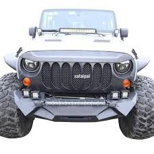 monster jeep jk safaripal jeep wrangler monster angry front grille grill for 2007 20