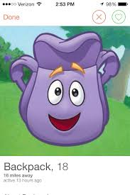 Dora The Explorer Meme - so uh the backpack from dora the explorer has a tinder account