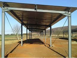 Steel Car Port Stimsheds Steel Huts Steel Structures Carports De Luxe