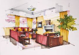 interior design sketch interior design hand drawings interior design hand drawings i