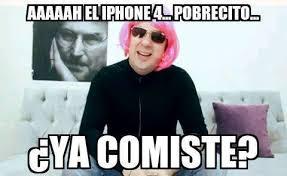 Iphone 4 Meme - meme galatzia iphone ya comiste meme espa祓ol pinterest