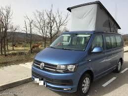 volkswagen california vw t6 california beach acapulco blue 150cv combi pinterest