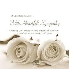 condolences cards