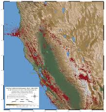 Usgs Earthquake Map California Map Of Northern California Earthquakes From 1984 2003