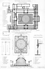 plans and elevation of the british museum and british library