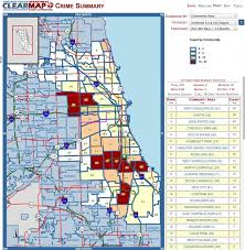 chicago map shootings related shooting and basketball that s what associate with
