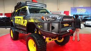 2015 sema show toyota tonka 4runner truck auto moto japan bullet