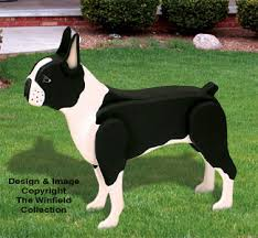 3d animal project patterns 3d size boston terrier woodcraft