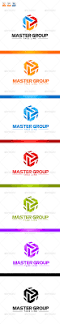 Corbel Bold Master Group Logo By Nasirktk Graphicriver