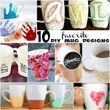 Cute Cup Designs 10 Adorably Cute Diy Mugs The Realistic Mama