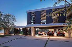 garage under the house kts s com minimalist black and cream nuance garage under modern home plans that has elegant cream wall can