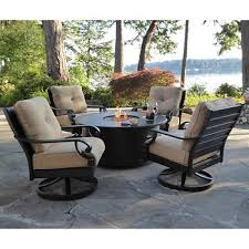 Patio Fireplace Table Fire Pits U0026 Chat Sets Costco