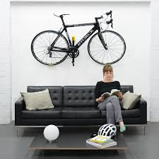 Bicycle Home Decor by Cycloc Hero Bicycle Storage Bike Lifestyle View Arafen