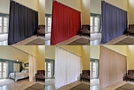 Panel Curtain Room Divider by 1 Room Divider Panel Curtain Solid Unlined Eclipse Blackout Drape
