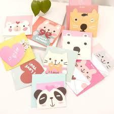 south korean style greeting card birthday card card