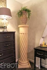 epbot make your own i purposely made the column more of a cream color to contrast with our gray walls
