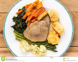 traditional sunday lunch royalty free stock photo image