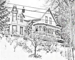 Victorian House Drawings Sketches Cjpape Com