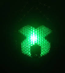 Kandi Mask Led Excision Surgical Kandi Mask