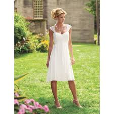 informal wedding dresses wedding dresses for second marriages cap sleeves casual