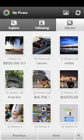 picasa android android app for managing your picasa web albums