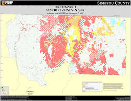 California Airports Map Cal Fire Siskiyou County Fhsz Map