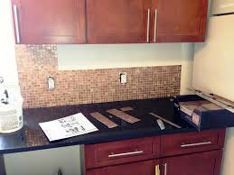 Kitchen Glass Backsplash by Interior Peel And Stick Backsplash Ideas For Kitchen Glass